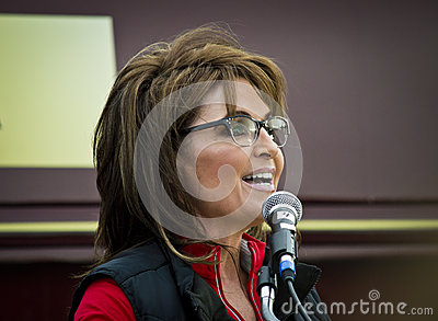 Sarah Palin 8 Editorial Image