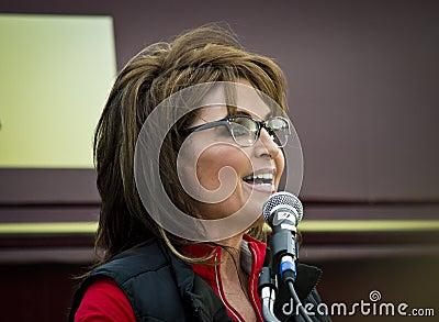 Sarah Palin 8 Editorial Image