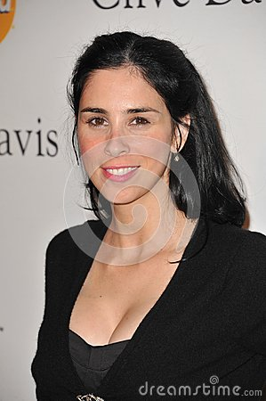 Sarah Silverman Editorial Stock Photo