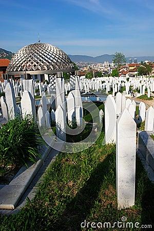 Sarajevo, Bosnia and Herzegovina - Muslim Cemetery