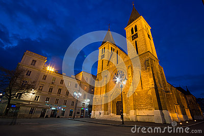 Sarajevo Cathedral Editorial Photography