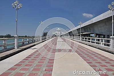 The Sarasin Bridge.