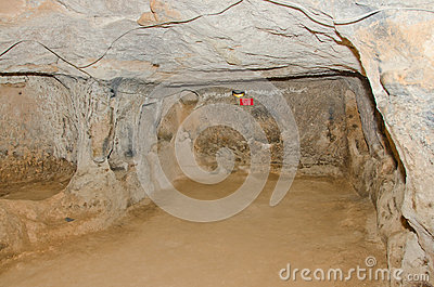 Saratli underground city, Turkey