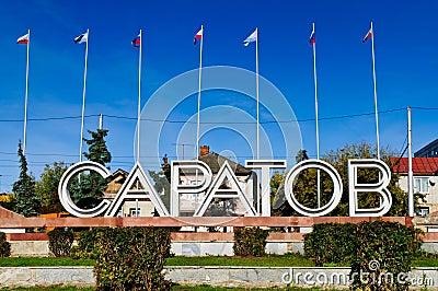 Saratov in Russia