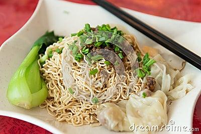 Sarawak Chinese noodle kampua