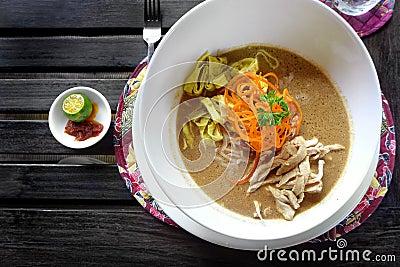 Sarawak Laksa - popular ethnic dish