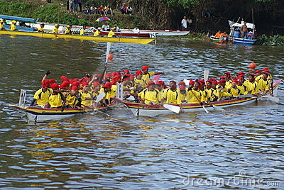Sarawak Regatta Editorial Photography
