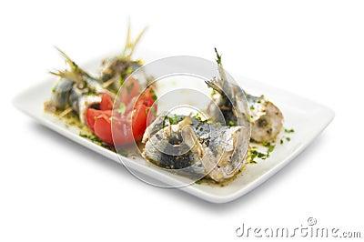 Sardine beccafico