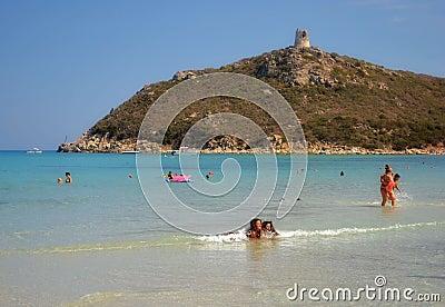Sardinia beach, Italy