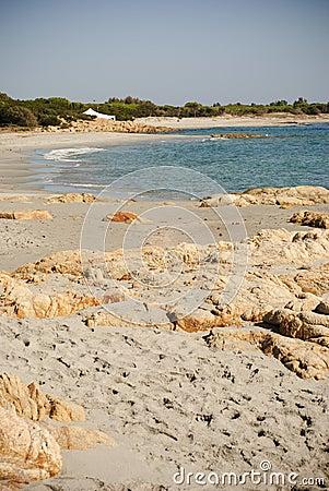Sardinia. Deserted beach