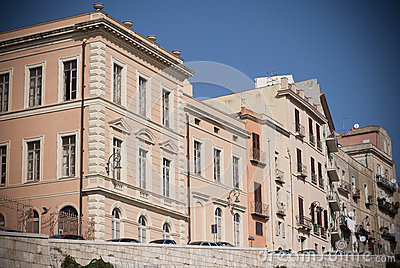 Sardinia. Historic buildings