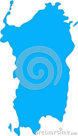 Sardinia illustration