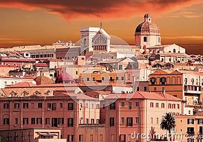 Sardinia, Italy sunset