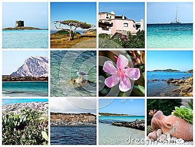Sardinia postcard - Italy