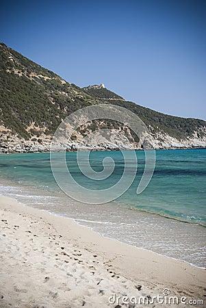 Sardinia. Solanas Beach