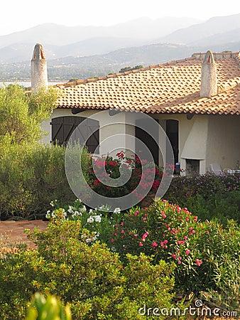Sardinian villa