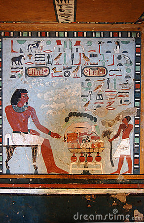 Free Sarenput II Tomb Painting Royalty Free Stock Photos - 7827938