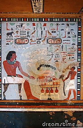 Sarenput II tomb painting
