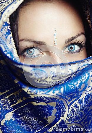 Sari portrait