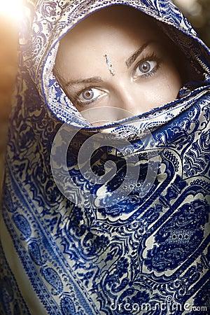 Sari woman