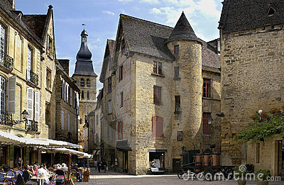 Sarlat - Dordogne - France Editorial Image
