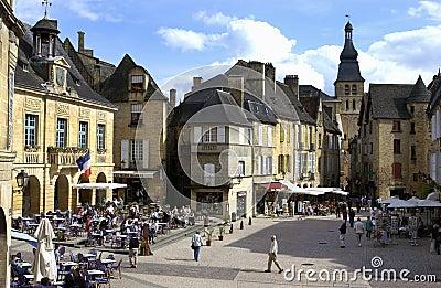 Sarlat - Dordogne - France. Editorial Photography
