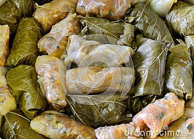 Sarmale, stuffed cabbage, Romanian cuisine