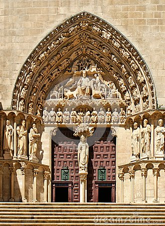 The Sarmental Door of Burgos Cathedral