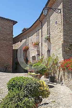 Sarnano (Macerata, Marches, Italy)