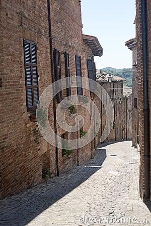 Sarnano (Marches, Italy) - Old street