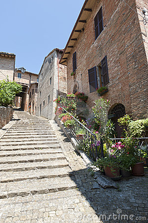 Sarnano (Marches, Italy) - Old village