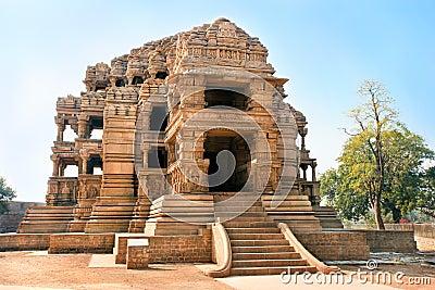 Sasbahu temples in Gwalior, Madhya Pradesh, India