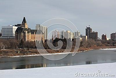 Saskatoon, Saskatchewan Skyline