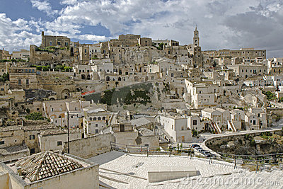 The Sassi of Matera, South Italy.
