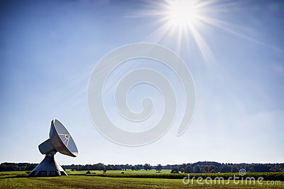 Satelite dish - radio telescope