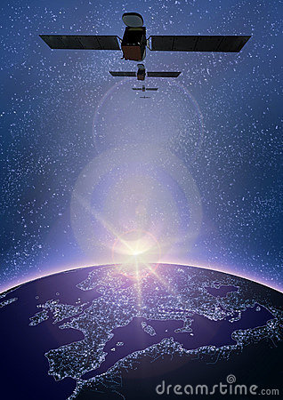 Free Satellite 2 Royalty Free Stock Image - 3745876