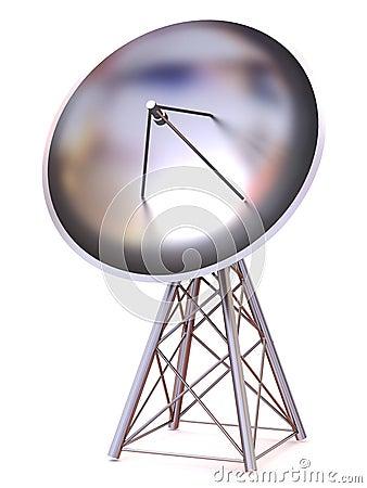 Satellite. 3d