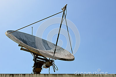 The Satellite dish.