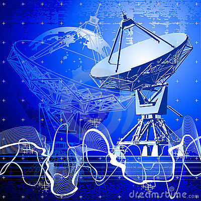 Free Satellite Dishes Antenna Royalty Free Stock Photography - 2782627