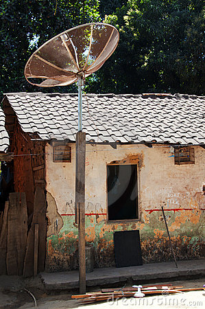Satellite dishes for TV