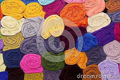 Satin fabrics
