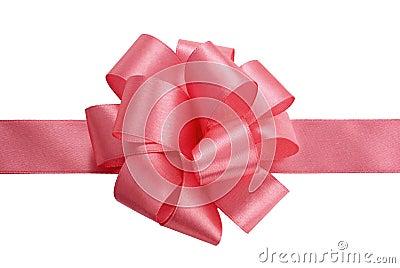 Satin ribbon bow