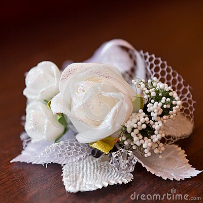 Satin wedding rose