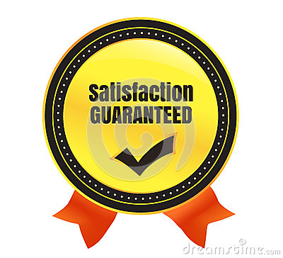Satisfaction Guaranteed Ecommerce Badge