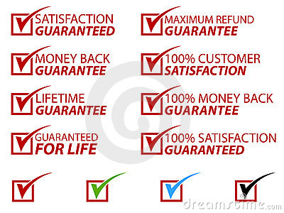 Satisfaction Stamps EPS