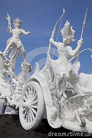 Satria Gatotkaca Statue, Bali, Indonesia