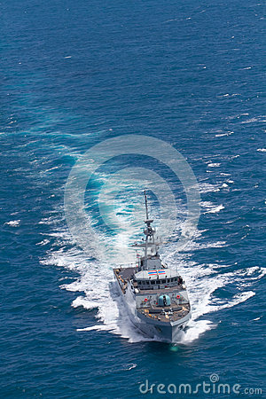 Free SATTAHEEP, THAILAND - June 21: H.T.M.S. Krabi, An Offshore Patrol Vessel Of The Royal Thai Navy Test Control System And Speed Stock Image - 33603981