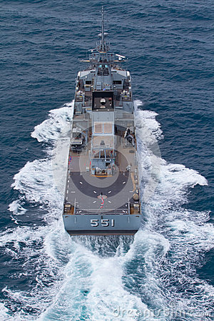 Free SATTAHEEP, THAILAND - June 21: H.T.M.S. Krabi, An Offshore Patrol Vessel Of The Royal Thai Navy Test Control System And Speed Stock Image - 33604151