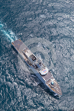 SATTAHEEP, THAILAND - June 21: H.T.M.S. Krabi, an offshore patro Editorial Image
