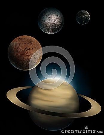 Free Saturn Royalty Free Stock Photos - 11262828